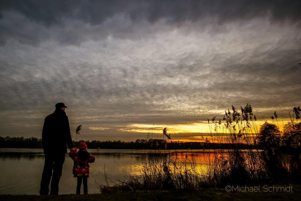 Sonnenuntergang am Toorfmoorsee