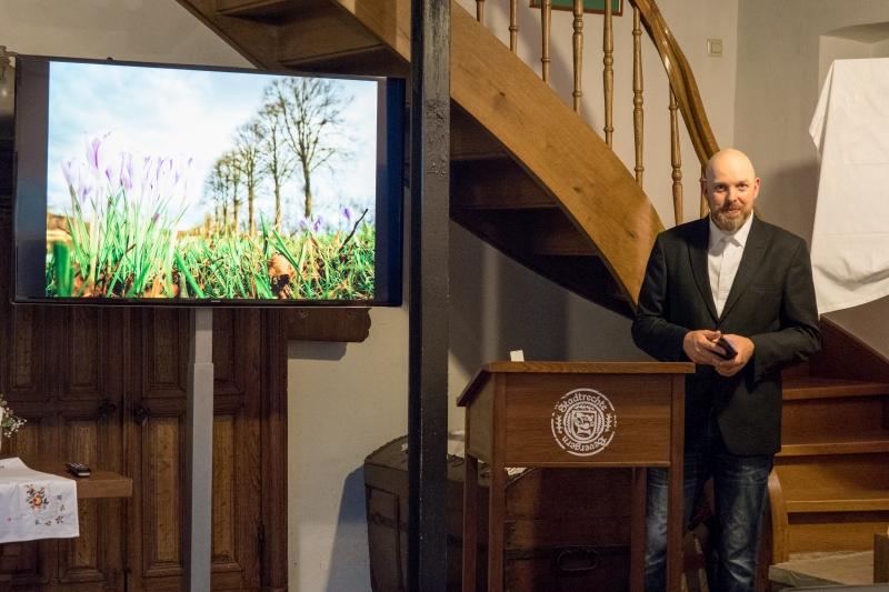 Finissage der Ausstellung Perspektivreich im Heimathaus Bevergern mit Fotos von Michael Schmidt