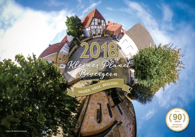 Kalender Heimatverein Bevergern 2018 Titelblatt